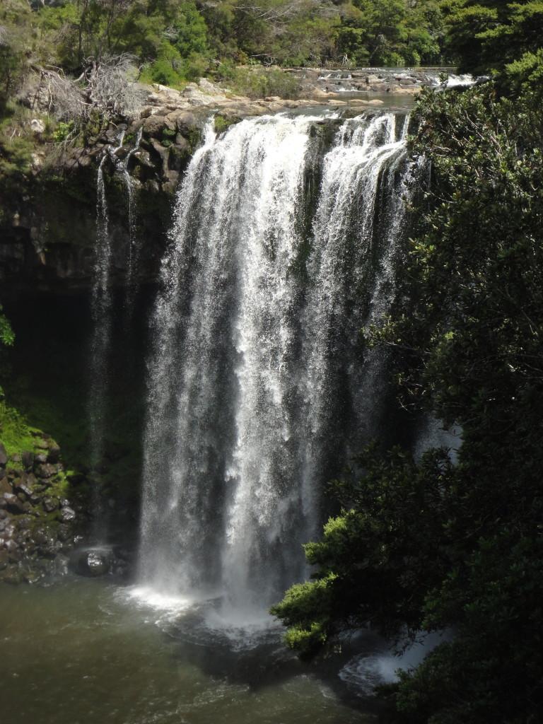 The Rainbow Falls near Waipapa