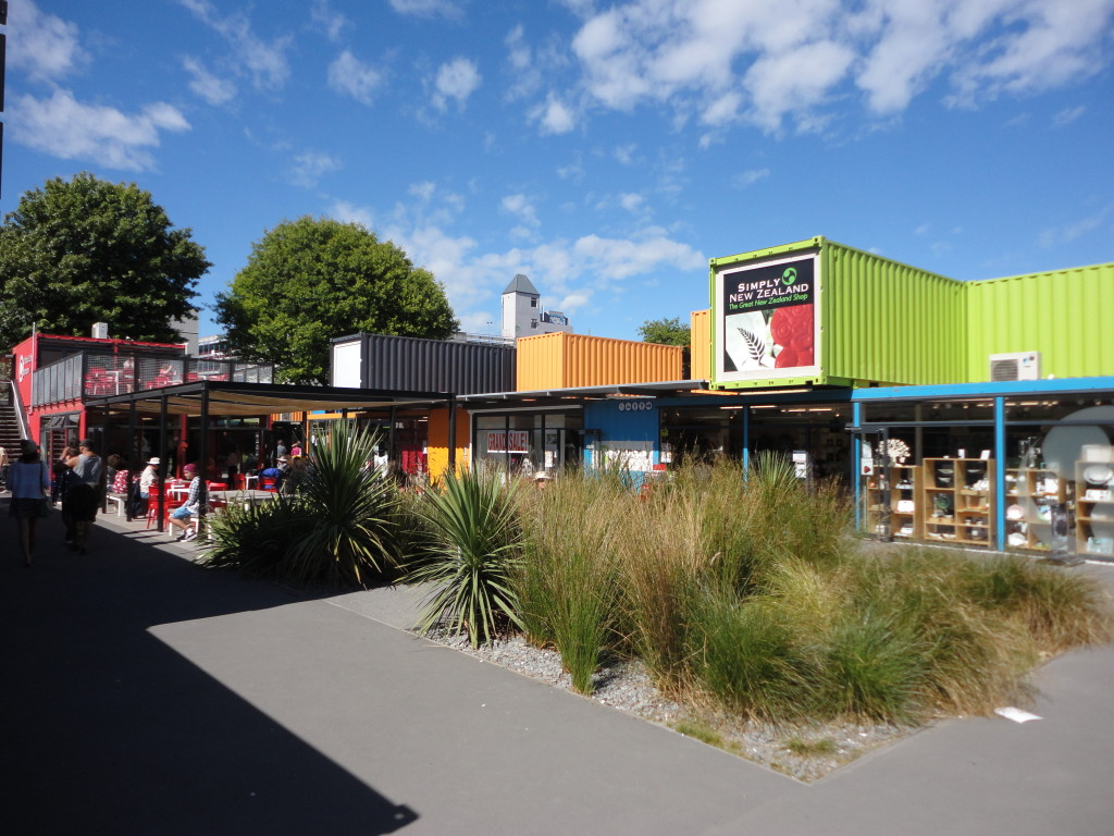 Re:START - the container concept in downtown Christchurch
