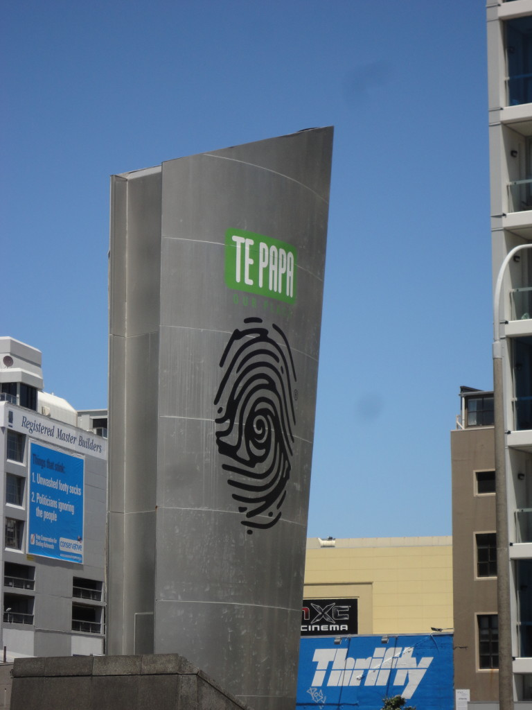 One of New Zealands finest museums - Te Papa