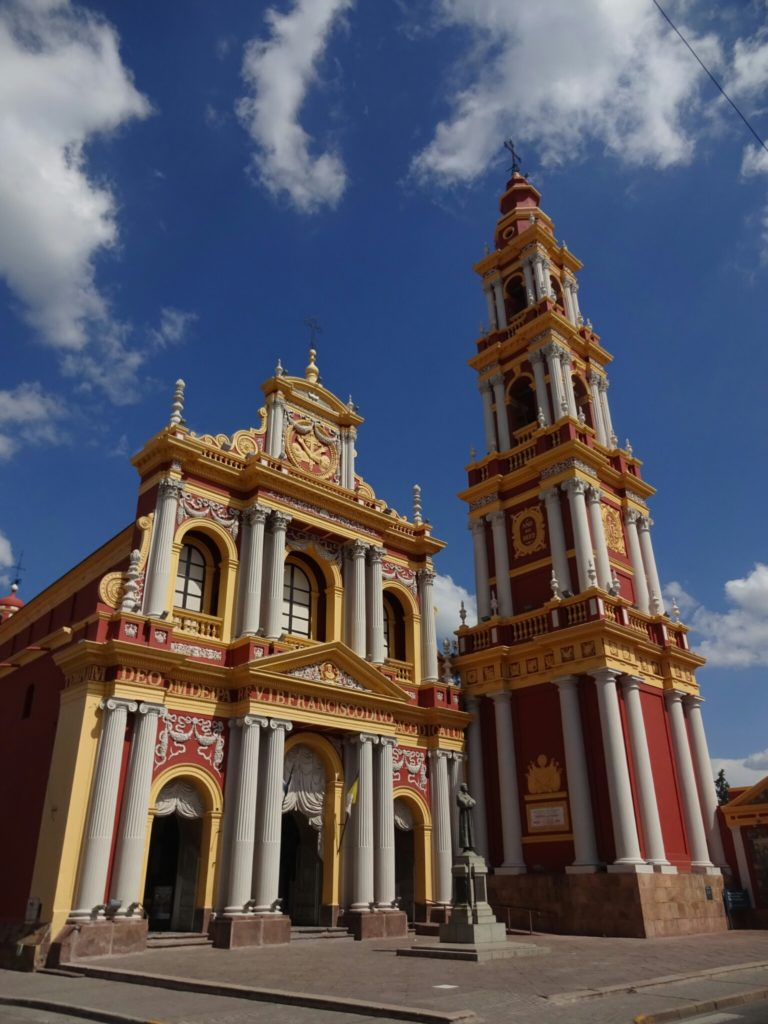 The San Francisco church in Salta