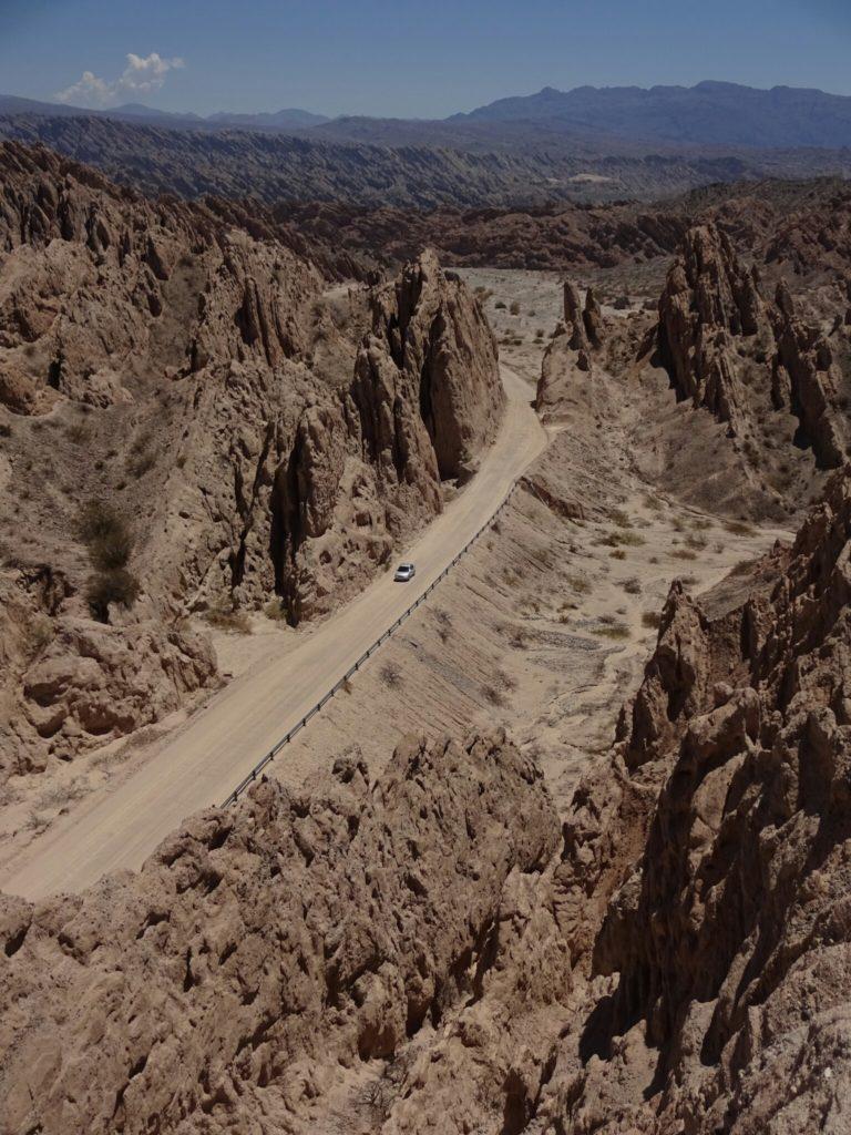 """The """"Quebrada de las Flechas"""""""
