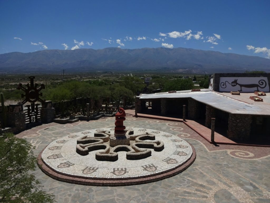 Visiting the very artistic Pachamama Museum
