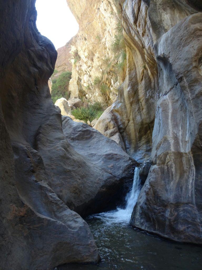 The waterfall of El Ramate